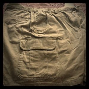 NWT Men's Columbia Size 38  Brown Elkhorn Shirts.